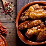 Barbecue wings with Thermomix