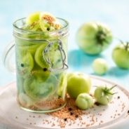 Pickled green tomatoes recipe
