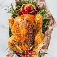 Whole roasted baked chicken recipe
