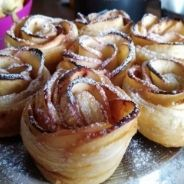 Apple roses and puff pastry recipe
