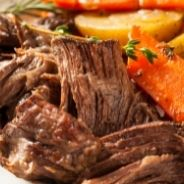 Cow cheeks in slow cooker recipe
