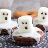 Ghost Shaped Cookies recipe