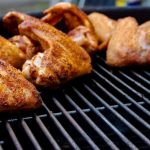 Grilled chicken barbecue