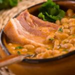 Mixed Beans in Chile with Bacon