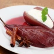 Pears Poached in Ginger recipe