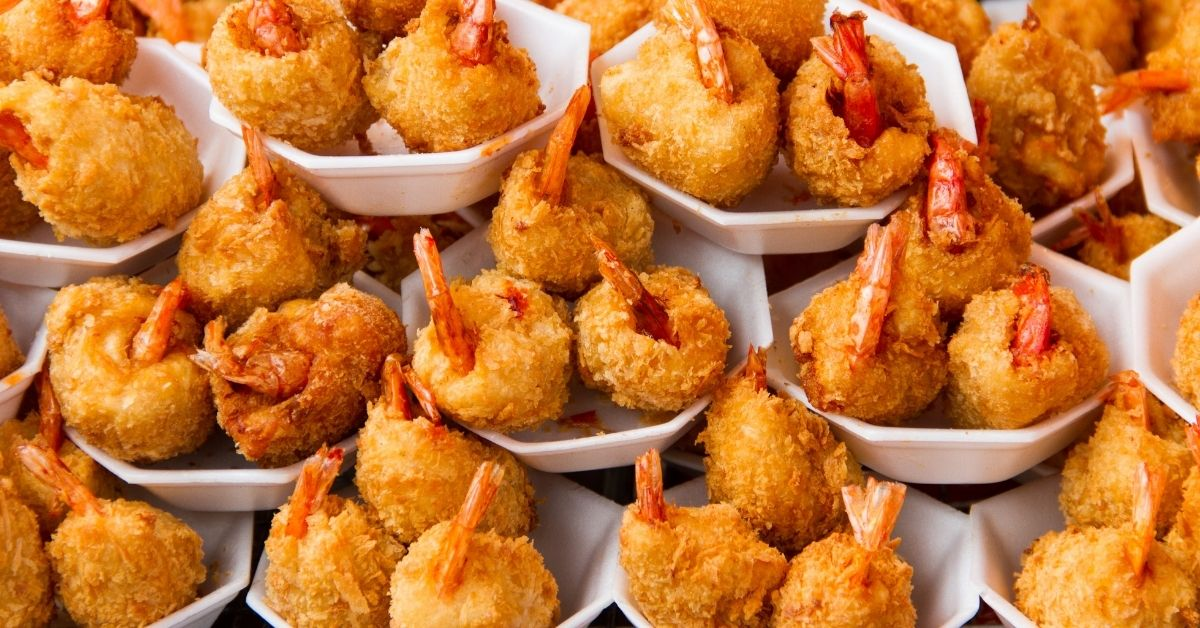 Prawn balls with the Thermomix
