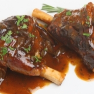 Slow cooked lamb shank with red wine recipe