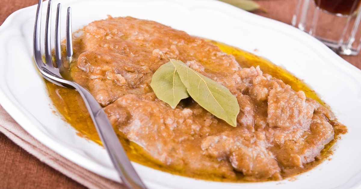 Veal escalopes with Marsala