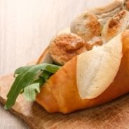 Veal sandwich with mustard and honey recipe