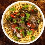 beef and black beans recipe