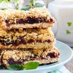 Almond Oat and Date Bars