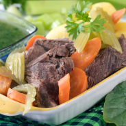 Boiled beef recipe