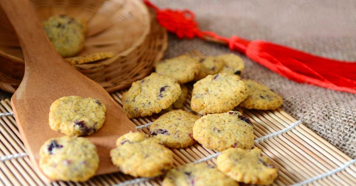 Chinese New Year's Almond Cookies