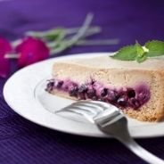 Coffee cake with blueberries recipe