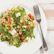 Gluten free cous cous with vegetables recipe