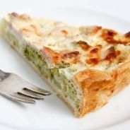 Grilled Vegetable Quiche recipe