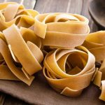 Pappardelle with rosemary