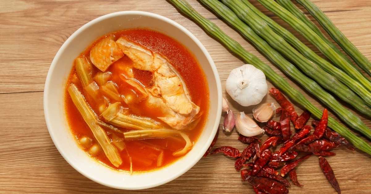 Thai sweet and sour soup