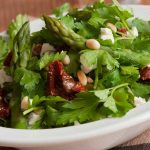 Wooden ear and coriander salad