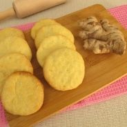 ginger and lime biscuits recipe