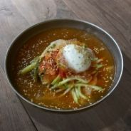 Noodles with Kimchi Sauce recipe
