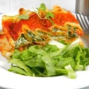 Spinach and ricotta flan recipe