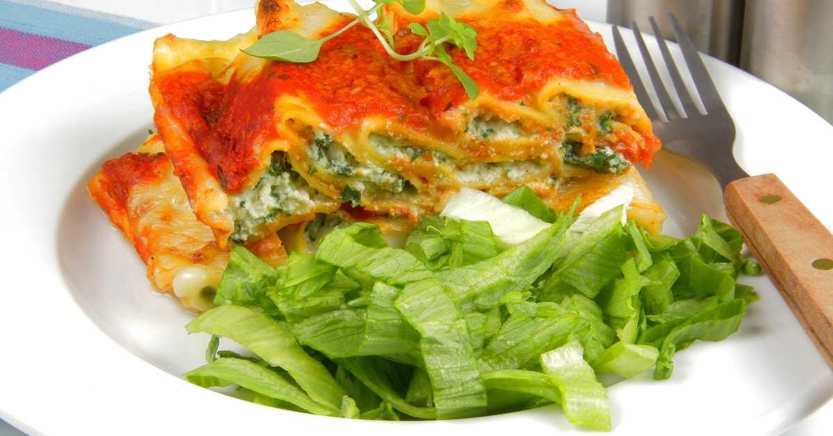 Spinach and ricotta flan