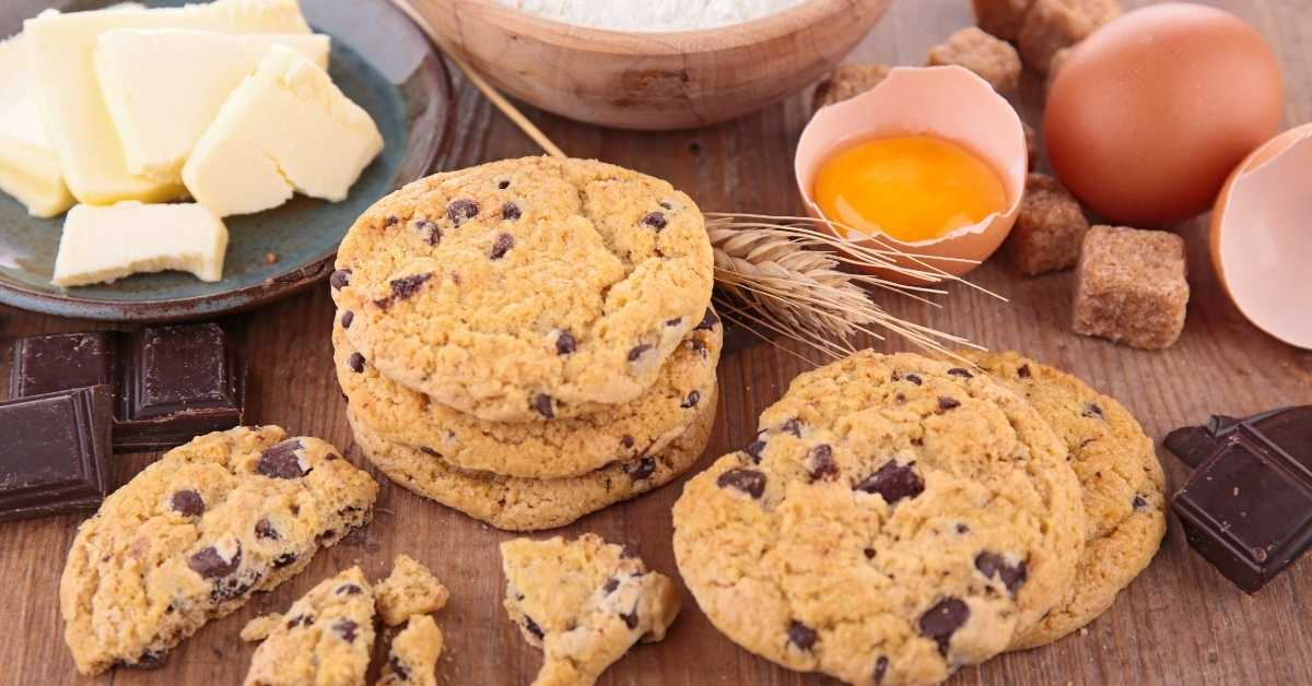 chocolate butter cookie